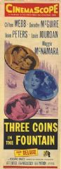 Three Coins in the Fountain 1954 DVD - Clifton Webb / Dorothy McGuire